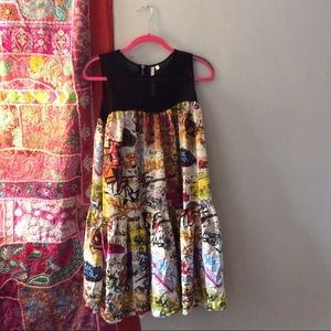 NWT Rachel Roy Graffiti Dress